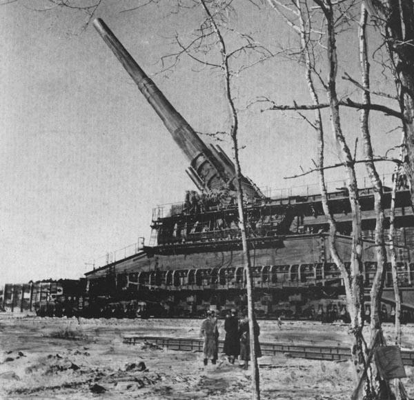 صور اكبر واضخم مدفع فى التاريخ مدفع جوستاف Gustav Gun